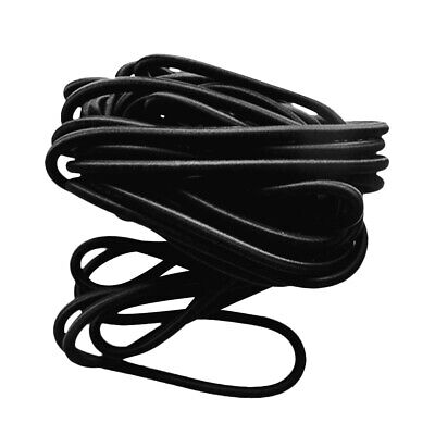 10mm 10m Shock Cord Elastic, Bungee, Tie Down, Rope, Black, Boats, Trailers