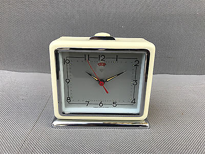 antique alarm clock morning vintage CHINA deco years 1960 french