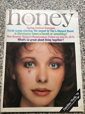 Vintage Honey Magazine April 1970