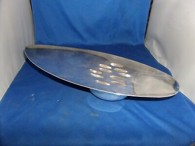 Christofle Gallia Modernist Pot Pourri Dish Centrepiece C.1960 Silver Plated