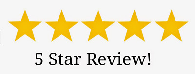 5* Review for your business or product on any website £1.99 CHEAPEST ON EBAY
