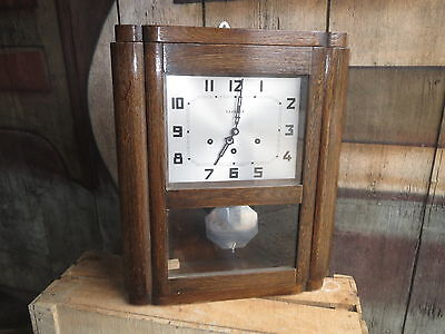 Antique chime STAR movement no.33 clock 5 hammers 5 rods old clock