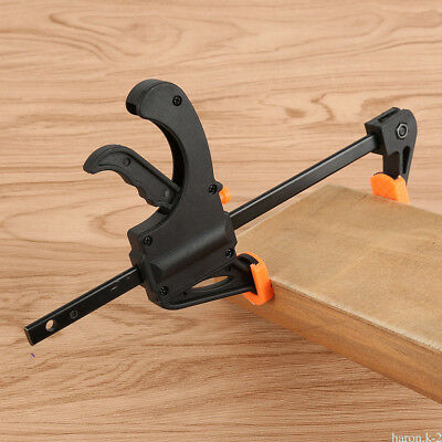 Universal Carpenter Tool 4 inch Capacity Heavy Duty Adjustable Woodworking Clamp
