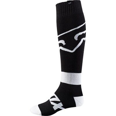 FOX FRI THIN RACE MX Motocross Cross Enduro Offroad Downhill Socken schwarz