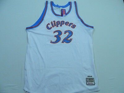 separation shoes 6f1e9 d268b BILL WALTON MITCHELL And Ness Authentic Clippers Vintage ...