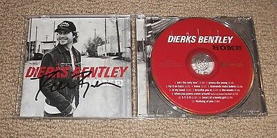 DIERKS BENTLEY - SIGNED HOME CD *AUTOGRAPHED* Country Star