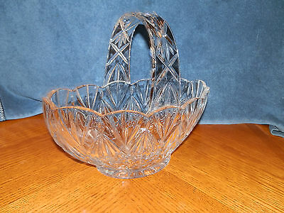 Vintage Heavy Crystal furit / candy /punch bowl centerpiece