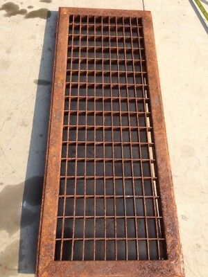 S 6 Antique Sheet Metal Cold Air Return Or Heating Grate