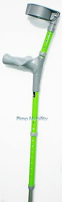 Comfy Grip Ergonomic Anatomic Grip Coloured Crutches - Full Cuff - (Pair)