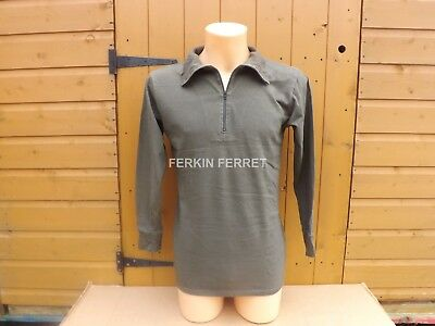 Genuine German Military Issue Cold Weather Shirts/norgie 100% Cotton