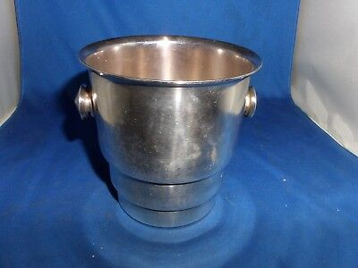 Lovely Art Deco Silver Plated Ice Bucket C.1930 Wiskemann Of Belguim