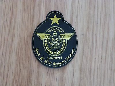 Motorhead - Support Division (Shaped) (New) Sew On W-Patch Official Band Merch