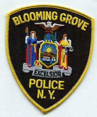 Blooming Grove New York Police Patch /// FREE US Shipping!