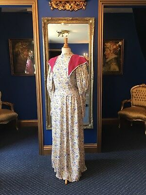 Stunning Edwardian Style Two Piece Theatrical Dress, Nice Detailing Top Item