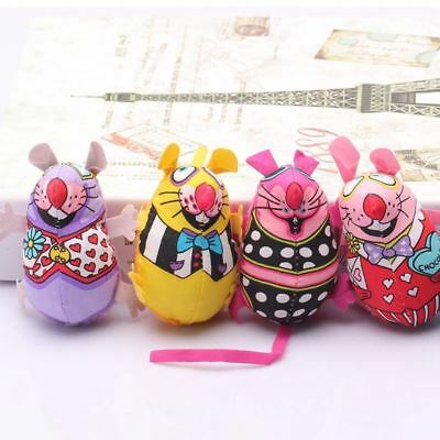 Pet Product Fat Cat Toy Fat Canvas Colorful Mouse With Cat mint Catnip Funny Bri
