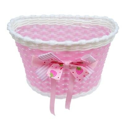 PF Children Bicycle Basket mit Bow On Belly Pink