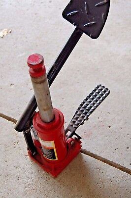 Heavy Duty Hydraulic 1500lb  Bottle Jack with foot pedal - Great for Motorcycles