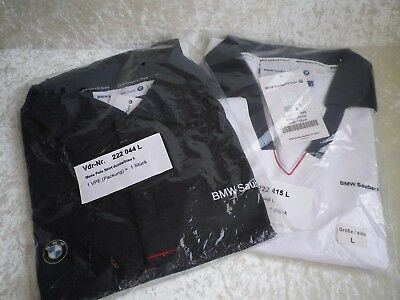 2 mal BMW Sauber F1 Team Polo Shirt