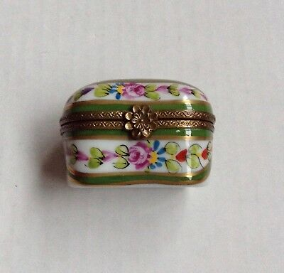 Limoges France Collectible Trinket Box