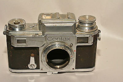 Zeiss Ikon Contax Iii Camera Body For Repair Or Parts