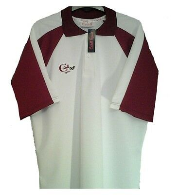 Cadell Sports Lawn/indoor Bowls Polo Shirt Top Sml Med Large Xl Xxl Xxxl