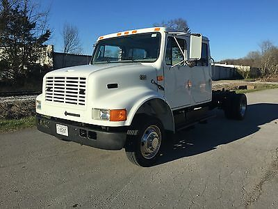 "1996 International 4700 Crew Cab 7.3 Liter Turbo Diesel ""LOW MILES"""