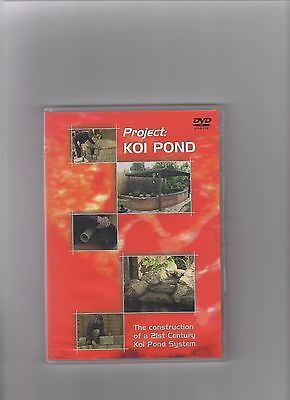 Project Koi Pond, Dvd, Complete With Case And Cover.
