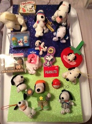 Snoopy Plush From Japan Lot