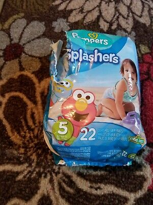 pampers splashers size 5, 16 ct