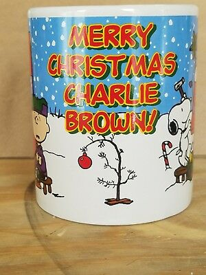 Charlie Brown Peanuts Snoopy Merry Christmas Mug Coffee Cup Galerie