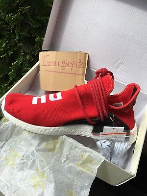 Adidas Human Race Nmd men's size 10 red