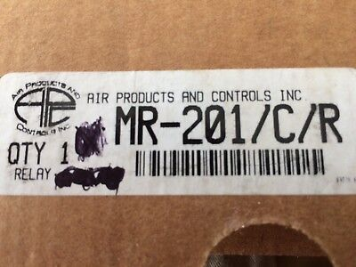 Air Products Fire Relay DPDT MR-201/C/R