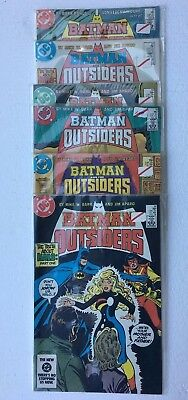 Batman And The Outsiders Lot 16 17 18 19 29 21 1984 1985