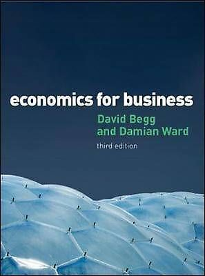Economics for Business by Damian Ward, David Begg (Paperback, 2009)