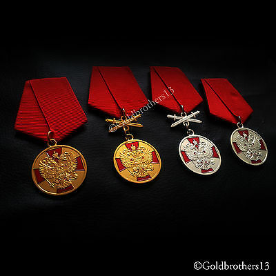 4x Medal Of The Order For Merit To The Fatherland USSR Russian Soviet SET Repro