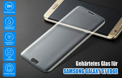 9H Härte Premium Tempered Glas Display Schutz für Samsung Galaxy S7 Edge