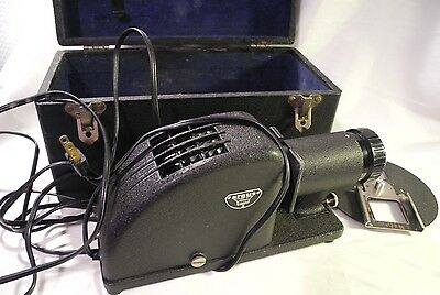 Vintage Argus Slide Projector and Case ~ made in USA