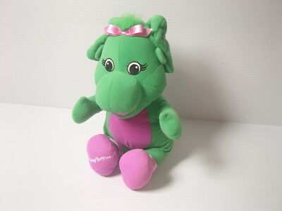 "Barney Baby Bop 12"" Plush Soft Toy Teddy by Fisher Price ..G"