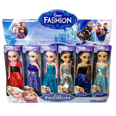 2pcs Cute Movie Frozen Princess Figures Kids Baby Boy Girl Playset Doll Toy Gift