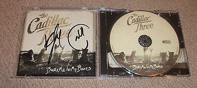 The Cadillac Three - SIGNED Bury Me In My Boots CD (Neil & Kelby Signed) Country