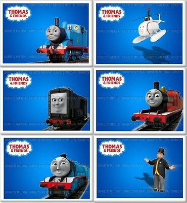 Thomas the Tank Engine and Friends Fridge Magnet 50mm x 35mm