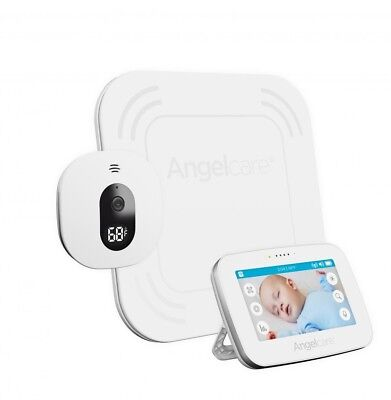 Angelcare AC417 Video Wireless Movement and Sound Baby Monitor with sensor mat