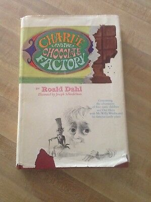 Charlie and the Chocolate Factory first edition 1964