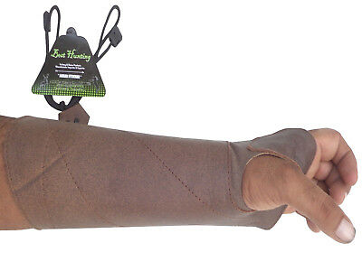 Shooting Arm Guard Made With Antique Cow Leather Archery Products Ag8400 L-Hand.