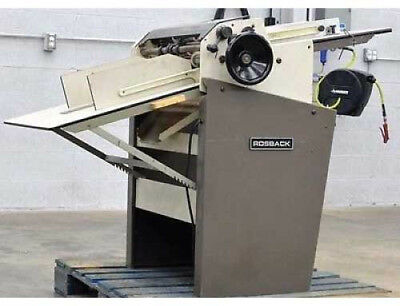 Rosback Perforator and Scoring Machine Model 220A