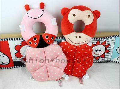 Baby Toddlers Head Protection Adjustable Infant Monkey Owl Cushion Pillows Pads