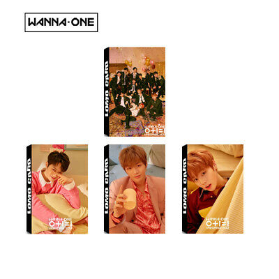 Lot of & KPOP WANNA ONE Album Poster Photo Card Lomo Card PhotoCard Bookmarks