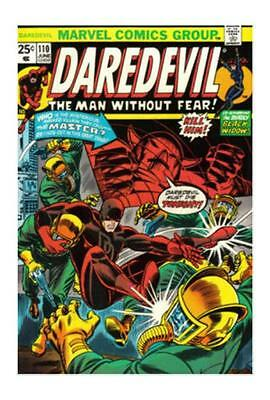 Daredevil #110 COMIC BOOK (Jun 1974, Marvel) Black Widow