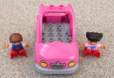 Duplo Car and Figures