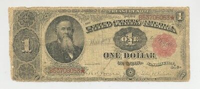 $1 Series 1891 Treasury (Coin) Note no reserve